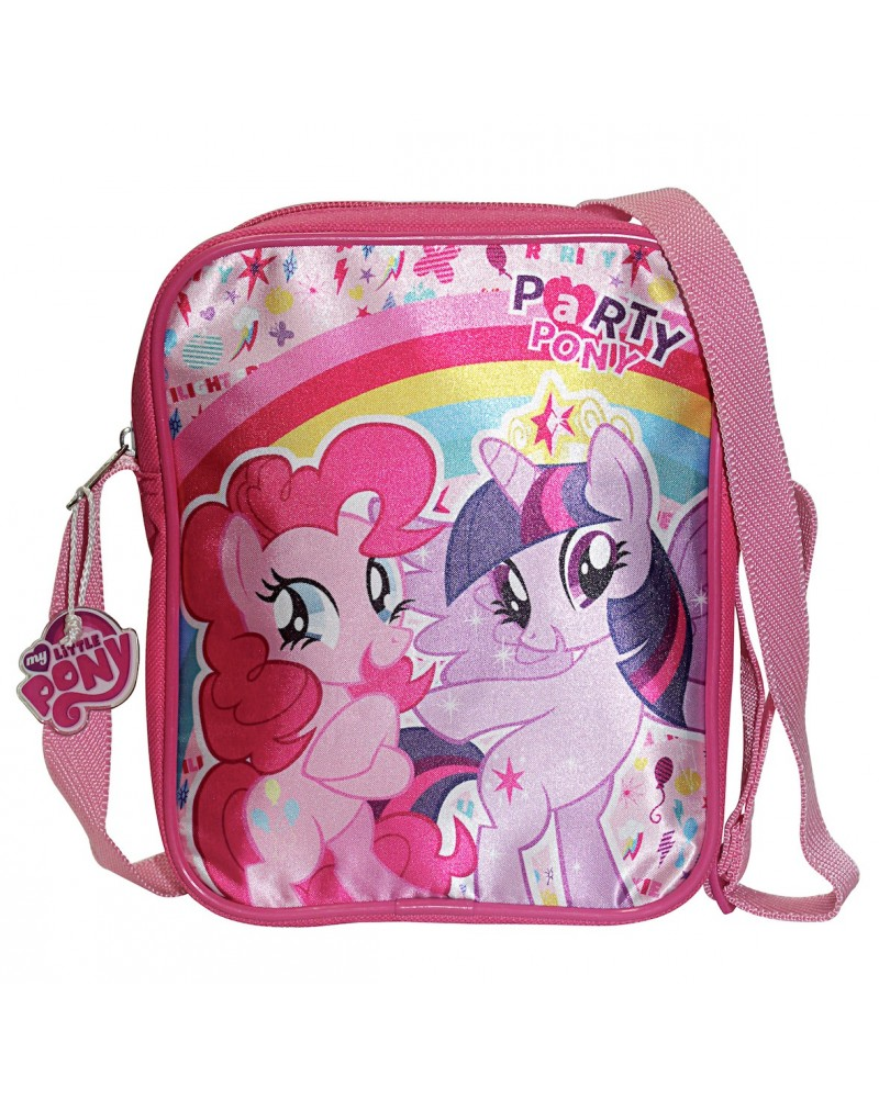 Sac bandoulière vertical My Little Pony, avec Twilight Sparkle, Pinkie Pie et Fluttershy
