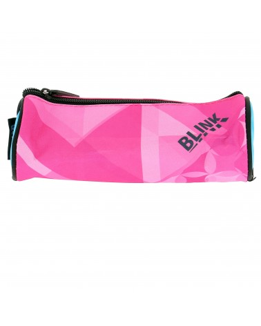 Trousse ronde Blink rose