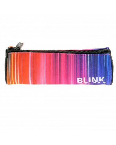 Trousse ronde Blink rayures