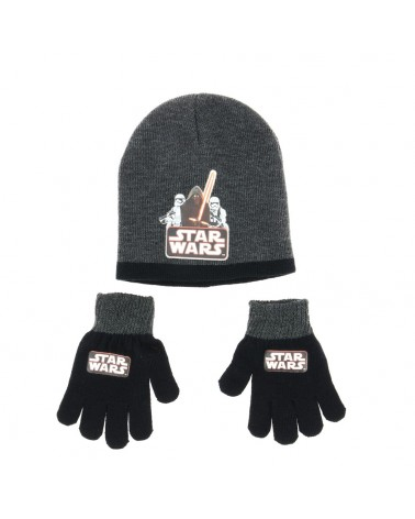Set bonnet/gants aux couleurs de l'univers Star Wars