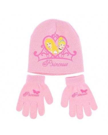 Set bonnet/gants féérique princesse disney