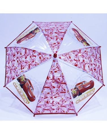 Parapluie transparent Cars 3