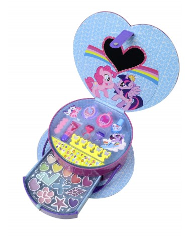 Valisette de maquillage My Little Pony - Hasbro en forme de coeur