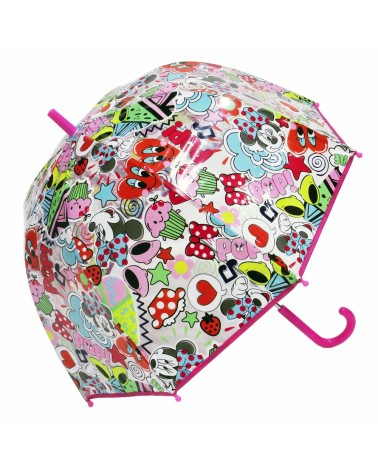 Parapluie cloche Minnie  Disney transparent
