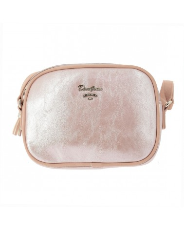Petit sac femme porté travers brillant David Jones