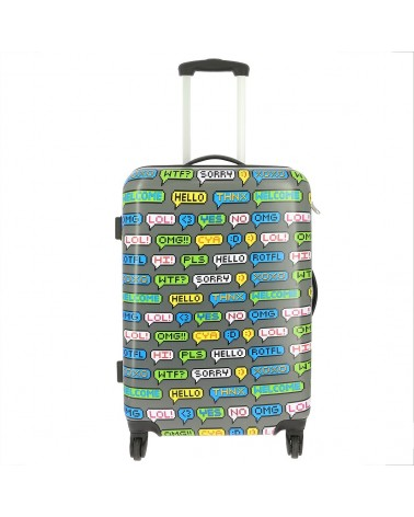 Valise rigide 4 roulettes SMS