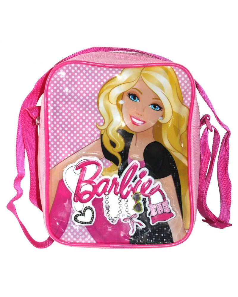 Sac messenger Barbie jean rose