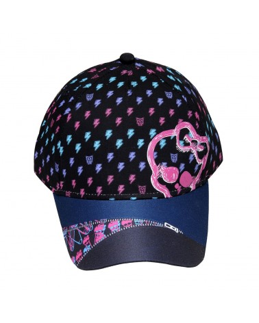 Casquette Monster High noire imprimée all-over